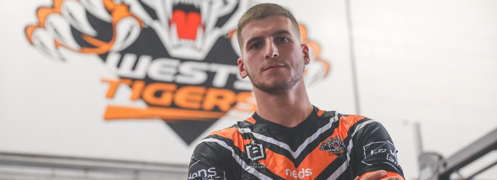 Wests Tigers recruit Adam Doueihi.