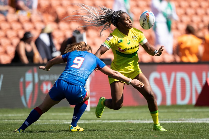 Rugby sevens superstar Ellia Green