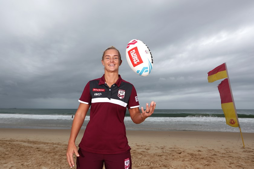 Meg Ward would love to deliver the Origin Shield to Queensland in 2020.