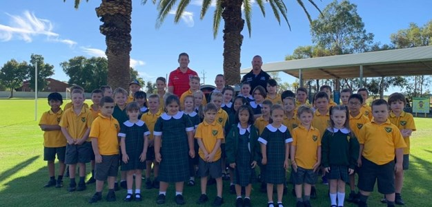 Lewis goes on the road in spreading NRL goodwill