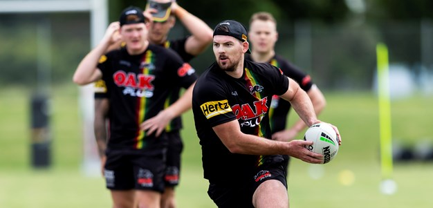 Eisenhuth reinvigorated by Panthers return