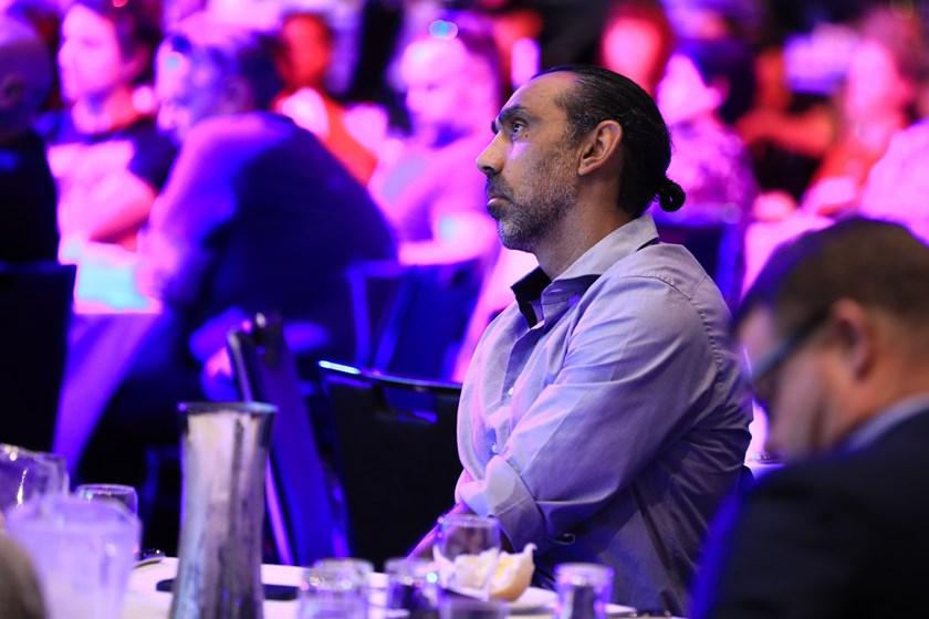 AFL legend Adam Goodes at the Bennelong Cup luncheon.