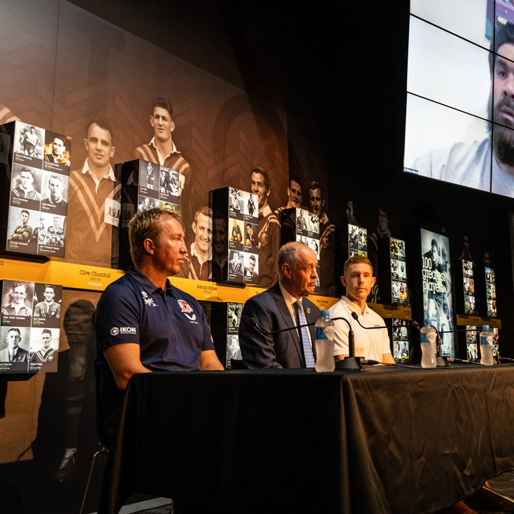 NRL, RLPA and the Men of League Foundation launch Masoe appeal