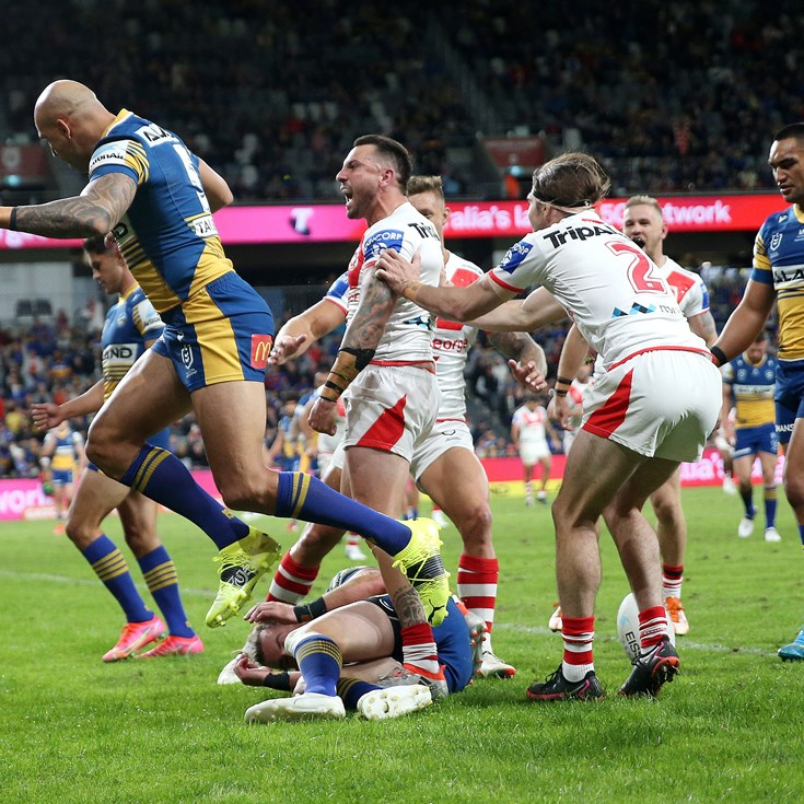 Dragons knock Eels out of top four with fourth straight win