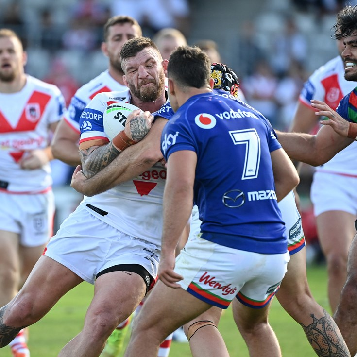 Strange feeling for McGuire at Dragons - being cheered in NSW