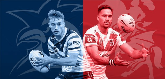 Roosters v Dragons preview: Taukeiaho, Hunt ruled out