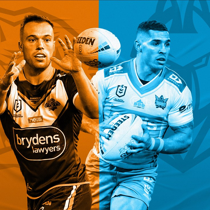 Wests Tigers v Titans: Mbye to start; Tanah in for Taylor