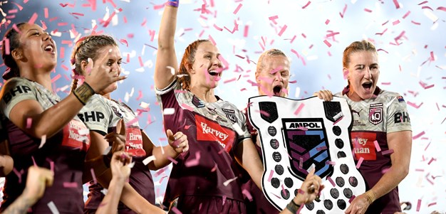 Last-minute penalty goal gives Maroons win over Blues