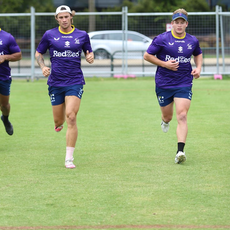 Harry Grant is officially back in Storm colours