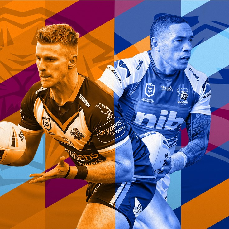 Wests Tigers v Knights preview: Hoy in for Ponga
