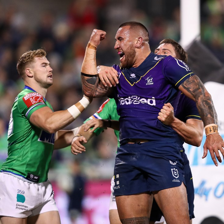 Purple reign: Storm prove too classy for Raiders