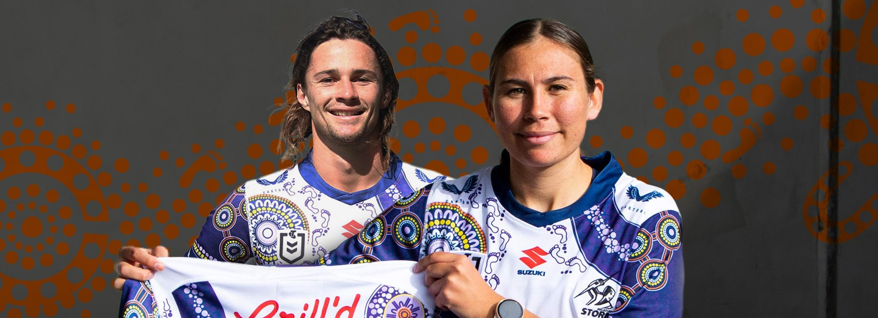 Goosebump moment: Krstel's Indigenous jersey proves a winner with Storm
