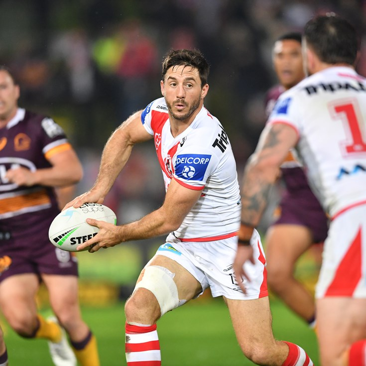 Hunt confident Dragons can relight fire