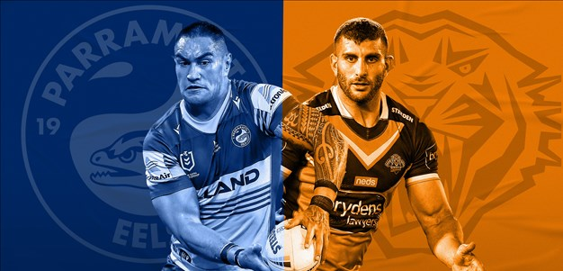 Eels v Wests Tigers: No.9 understudy required; Origin rep only likely change