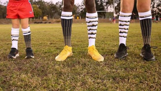 Sock it to 'em: Players give Men of League campaign a leg up