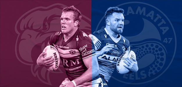 Sea Eagles v Eels: Paseka sidelined; Lussick set to fill in for Mahoney