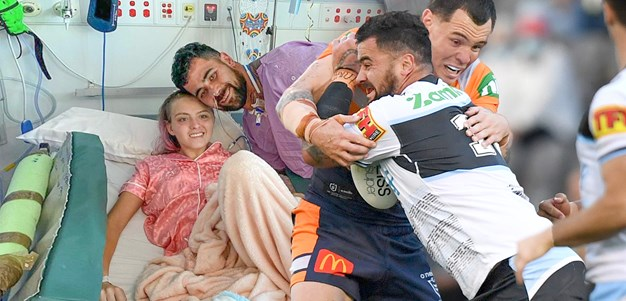 Out of ICU, 'grateful' Fifita inspired by injured triathlete