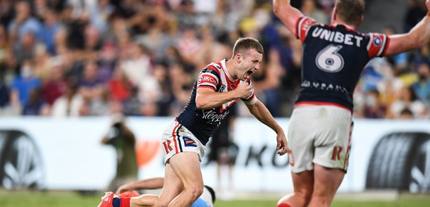 Roosters stay alive as Walker sinks Titans