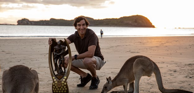 JT thrilled to see Queensland towns rewarded with trophy tour