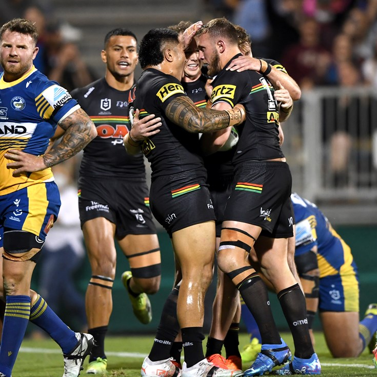Panthers outlast Eels in brutal battle to set up date with Storm