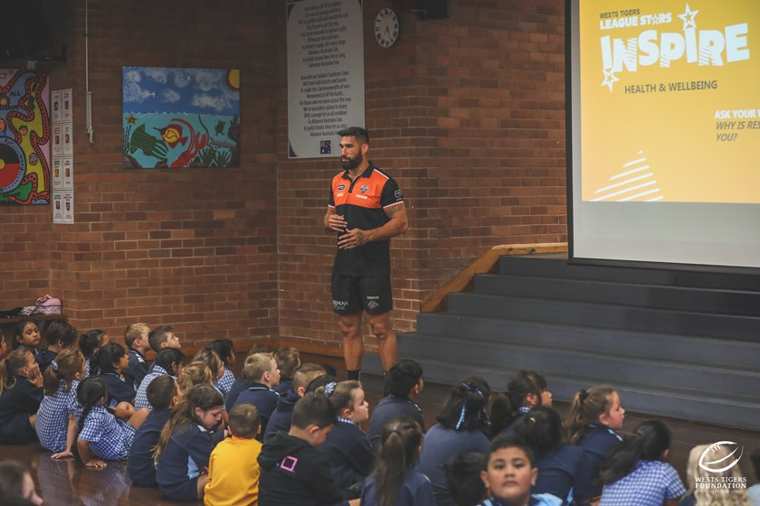 New Wests Tigers captain James Tamou.
