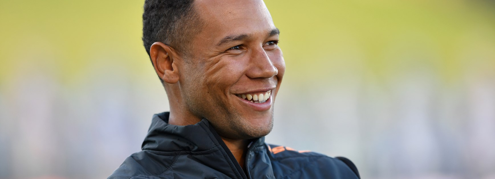 Wests Tigers utility Moses Mbye.