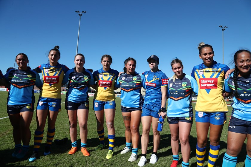 Combined Affiliate States Women and NSW City Women in 2019.