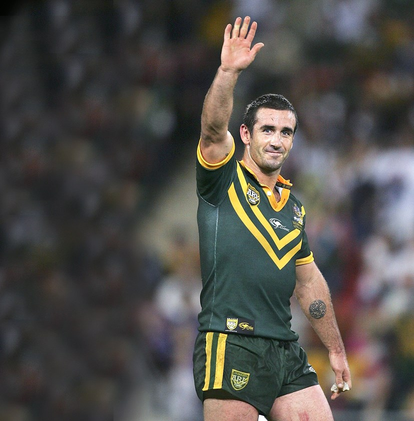 Andrew Johns played 26 Tests for Australia.