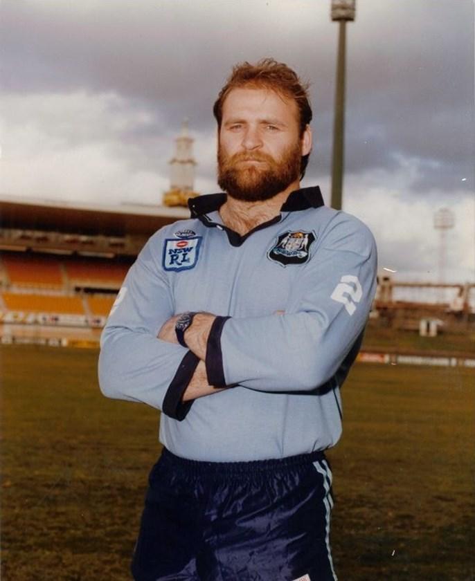 Blues and Parramatta powerhouse Eric Grothe.
