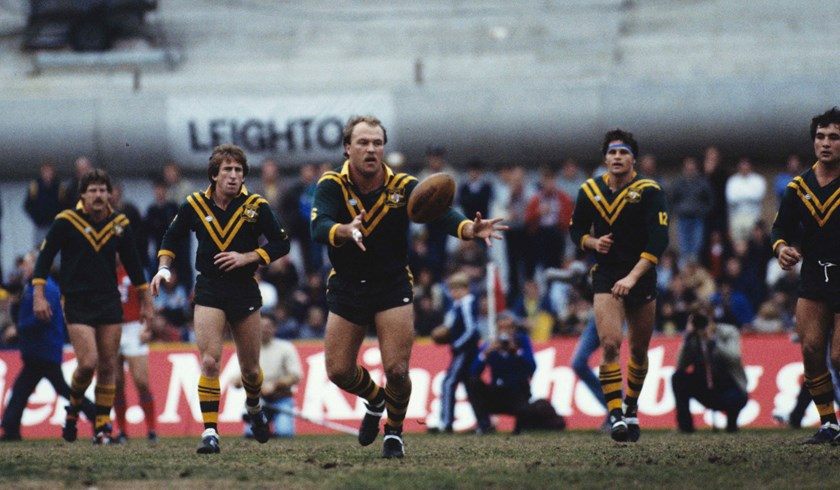 Wally Lewis enjoyed a magnificent Test career for the Kangaroos.