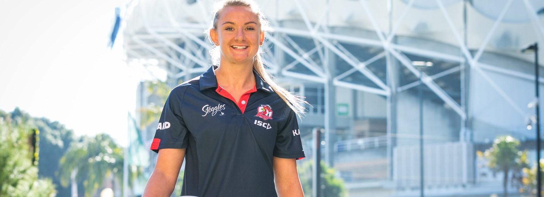 Sydney Roosters signing Brydie Parker.