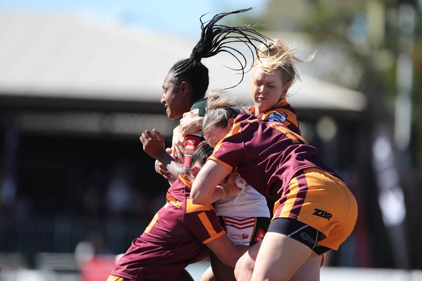 NSW Country's strong defence set up a 16-6 win over Queensland City.