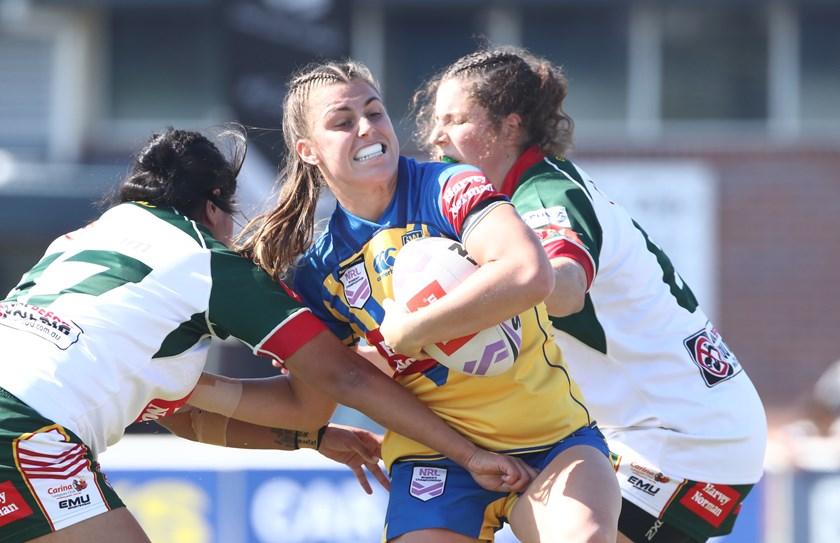 NSW City's Jess Sergis scored a match-winning try.
