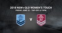 Live Stream: NSW v Queensland Women's Touch