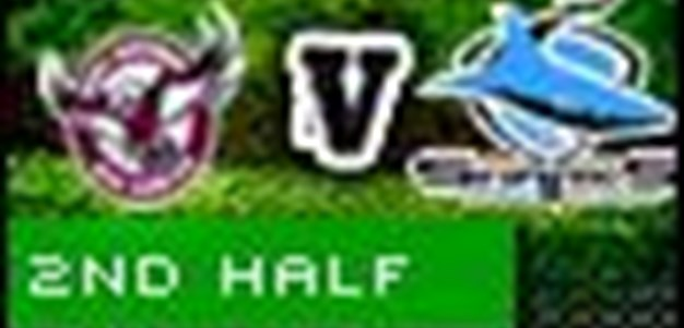 Full Match Replay: Manly-Warringah Sea Eagles v Cronulla-Sutherland Sharks (2nd Half) - Round 5, 2010
