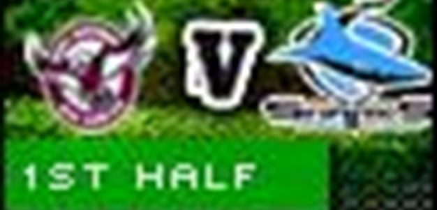 Full Match Replay: Manly-Warringah Sea Eagles v Cronulla-Sutherland Sharks (1st Half) - Round 5, 2010