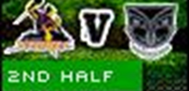 Full Match Replay: Melbourne Storm v Warriors (2nd Half) - Round 7, 2010