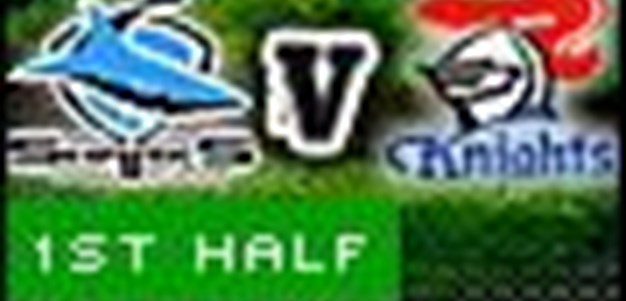 Full Match Replay: Cronulla-Sutherland Sharks v Newcastle Knights (1st Half) - Round 7, 2010