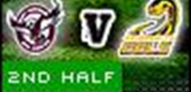 Full Match Replay: Manly-Warringah Sea Eagles v Parramatta Eels (2nd Half) - Round 10, 2010