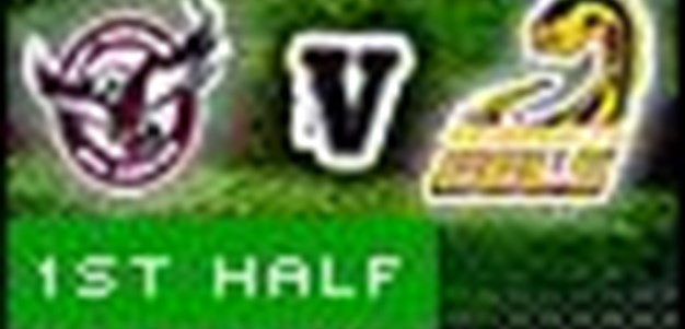 Full Match Replay: Manly-Warringah Sea Eagles v Parramatta Eels (1st Half) - Round 10, 2010