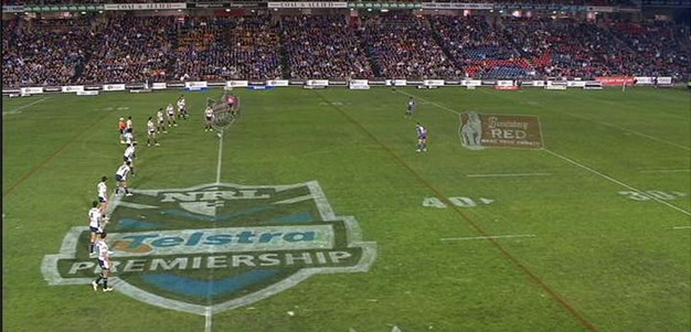 Full Match Replay: Newcastle Knights v Brisbane Broncos (1st Half) - Round 24, 2010