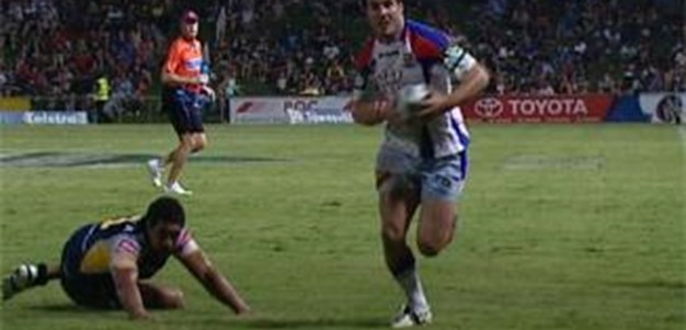 Full Match Replay: North Queensland Cowboys v Newcastle Knights (2nd Half) - Round 2, 2011