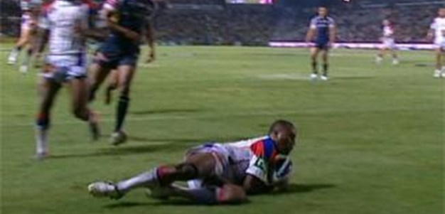 Full Match Replay: North Queensland Cowboys v Newcastle Knights (1st Half) - Round 2, 2011