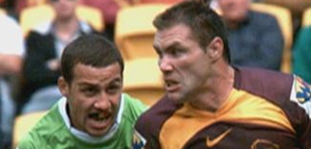 Full Match Replay: Brisbane Broncos v Canberra Raiders (1st Half) - Round 14, 2011