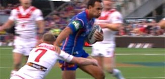 Full Match Replay: St George-Illawarra Dragons v Newcastle Knights (2nd Half) - Round 17, 2011