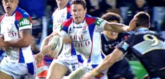 Full Match Replay: Cronulla-Sutherland Sharks v Newcastle Knights (2nd Half) - Round 20, 2011