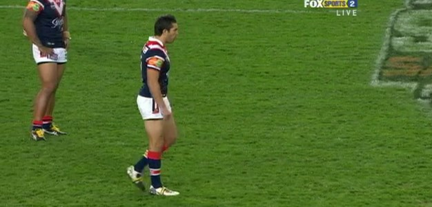 Full Match Replay: Sydney Roosters v Warriors (1st Half) - Round 13, 2011