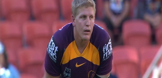 Full Match Replay: Brisbane Broncos v Newcastle Knights (1st Half) - Round 13, 2012