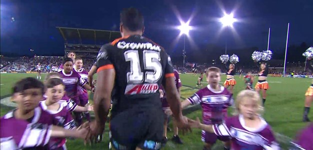 Full Match Replay: Wests Tigers v Sydney Roosters (2nd Half) - Round 14, 2017