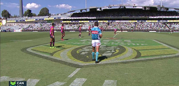 Full Match Replay: Canberra Raiders v Penrith Panthers (1st Half) - Round 1, 2016